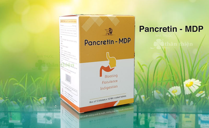 Sản phẩm Pancretin Mdp mẫu mới cập nhật năm 2021