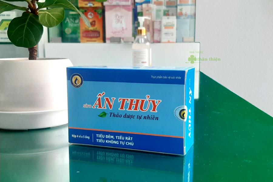 Siro Ấn Thủy, hỗ trợ tăng cường chức năng thận và đường tiết niệu