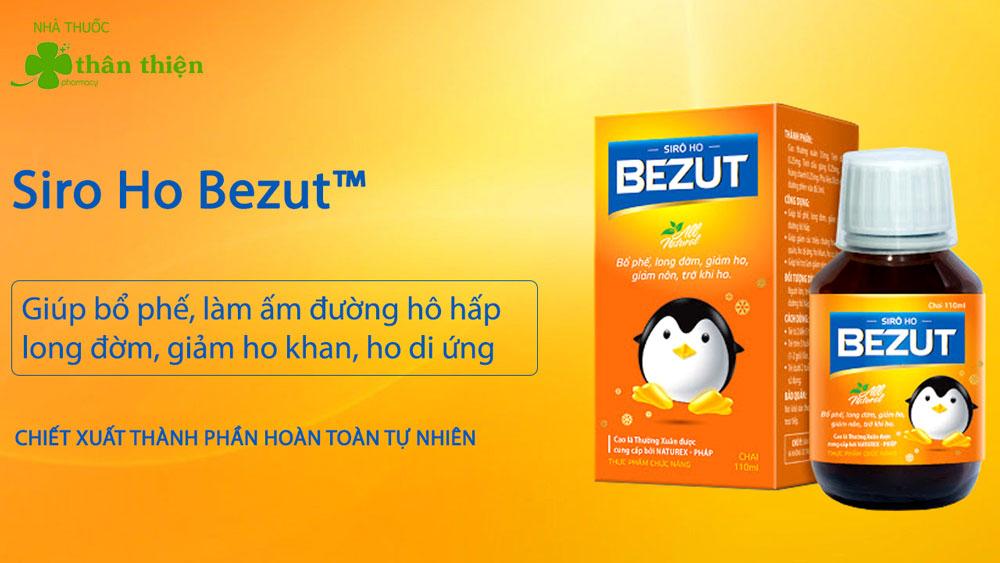 Hình ảnh: Siro Ho Bezut bán chính hãng tại Nhà Thuốc Thân Thiên