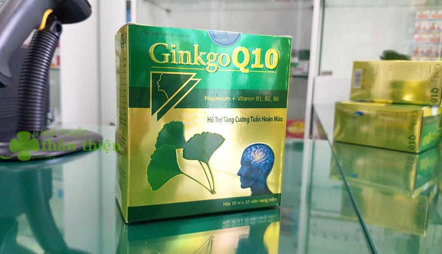 Hình chụp sản phẩm Ginkgo Q10 tại nhà thuốc Thân Thiện!