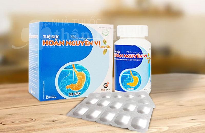 Tuệ Đức Hoàn Nguyên Vị, hỗ trợ điều trị trào ngược dạ dày - thực quản