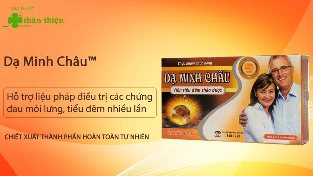 Hình ảnh: Viên Tiểu Đêm Thảo Dược Dạ Minh Châu có bán tại các nhà thuốc