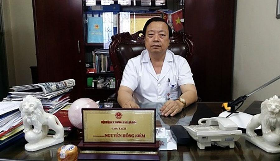 Bác sỹ Nguyễn Hồng Siêm - Chủ tịch Hội Đông y TP.Hà Nội