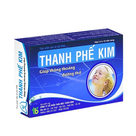 Tpcn Thanh Phế Kim
