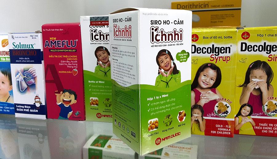 Siro Ho Cảm Ích Nhi có bán chính hãng tại Nhà Thuốc Thân Thiện