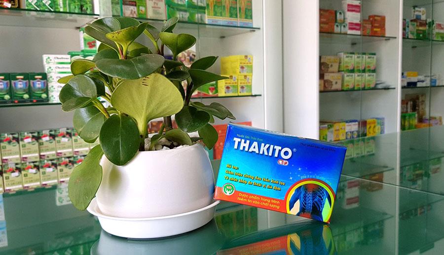 Hình sản phẩm Thakito chụp tại Nhà Thuốc Thân Thiện!