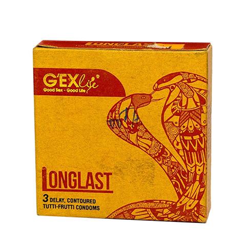 Bao cao su Gexlife Longlast