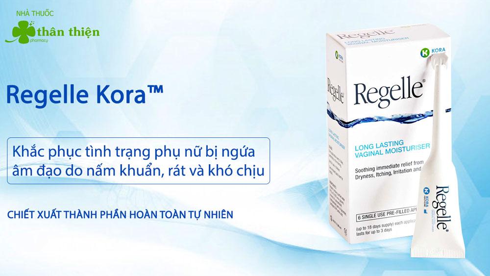 Sản phẩm Gel Regelle Kora có bán tại các nhà thuốc trên toàn quốc