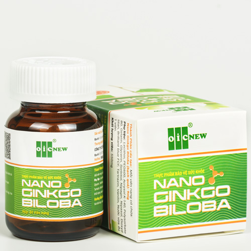 Bộ sản phẩm Nano Ginkgo Biloba
