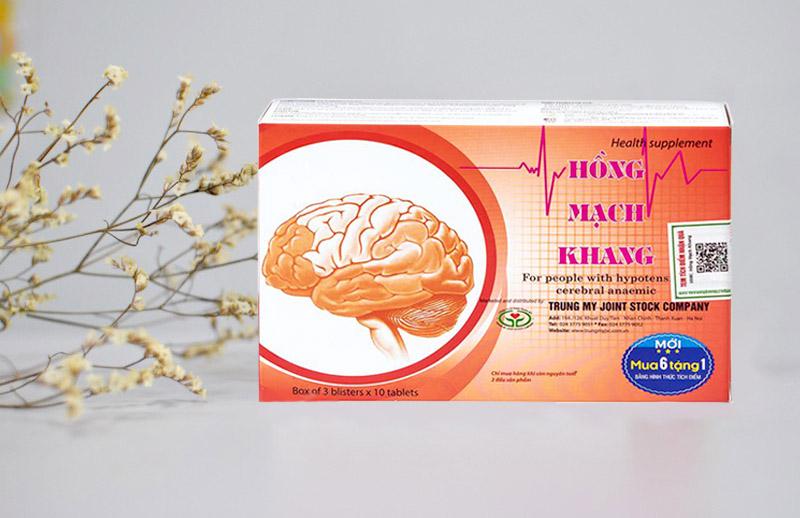 Viên uống Hồng Mạch Khang