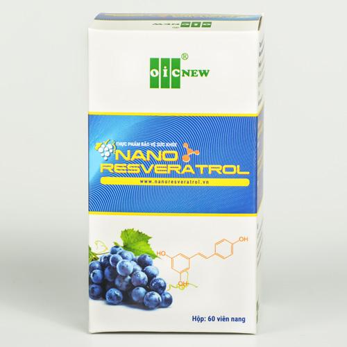 Hộp Nano Resveratrol