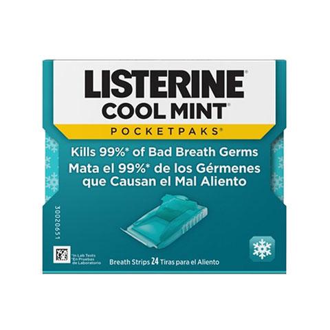 Listerine Cool mint (vỉ)