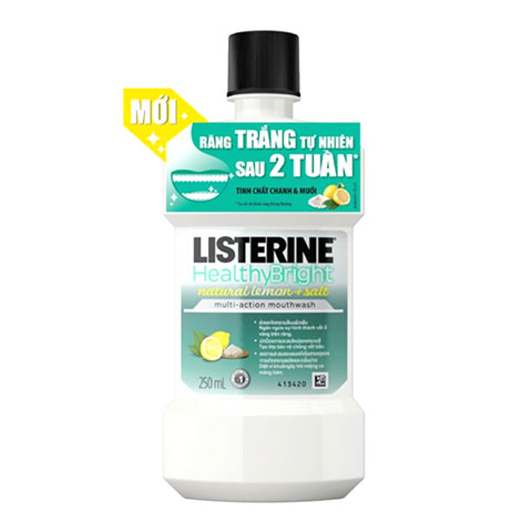 Listerine Healthy Bright