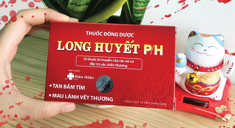 Thuốc Long Huyết P/H hiện đang có bán tại Nhà Thuốc Thân Thiện