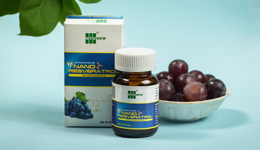 Nano Resveratrol của Công ty OIC được Nhà Thuốc Thân Thiện phân phối trực tiếp