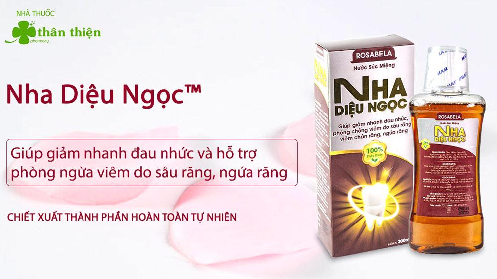 Nước súc miệng Nha Diệu Ngọc có bán chính hãng tại các nhà thuốc