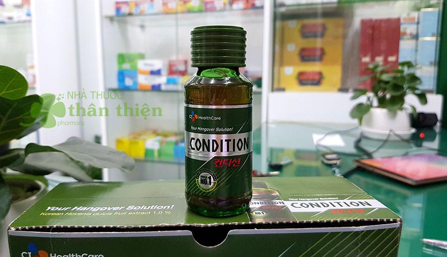 Hình chụp Nước Giải Rượu Condition tại nhà thuốc!