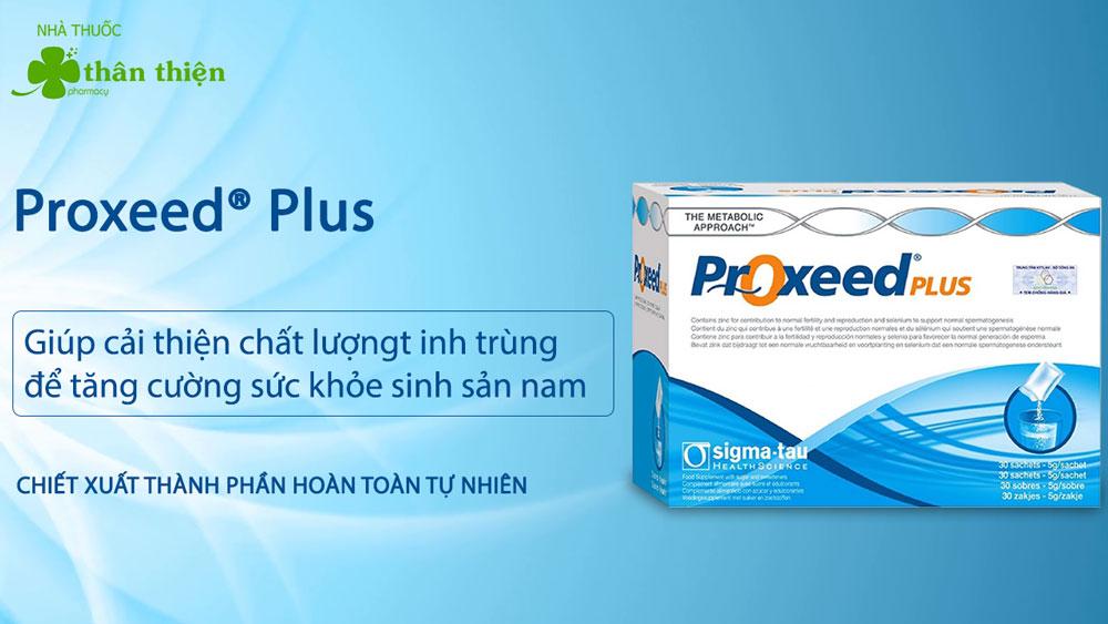 Sản phẩm Proxeed Plus có thể có bán tại các nhà thuốc