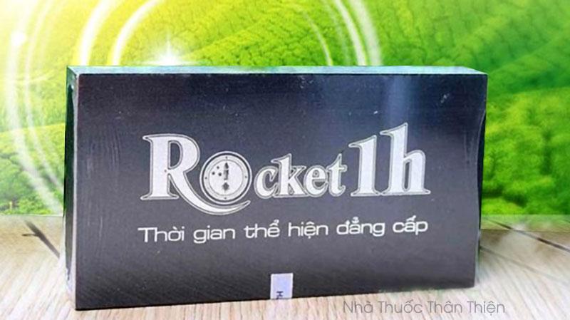 Hình ảnh thực tế viên uống Rocket 1H đang bán trên thị trường