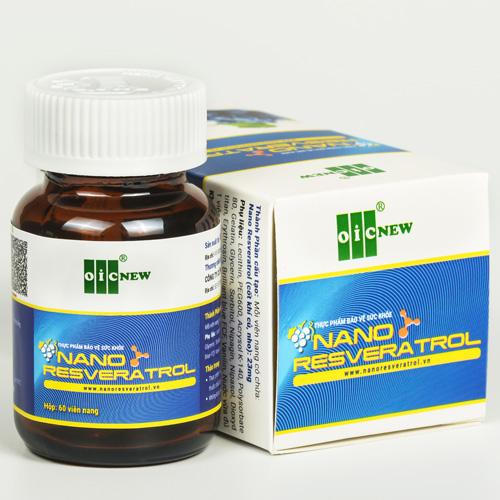 Sản phẩm Nano Resveratrol