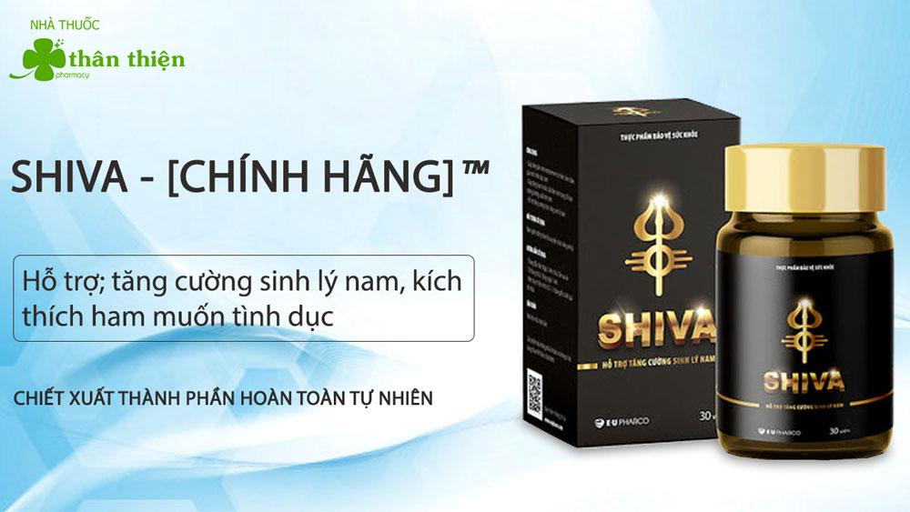 Sản phẩm Shiva có bán trực tiếp tại Nhà Thuốc Thân Thiện