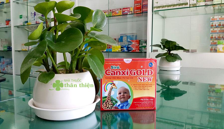 Hình chụp Siro Canxi Gold New tại nhà thuốc!