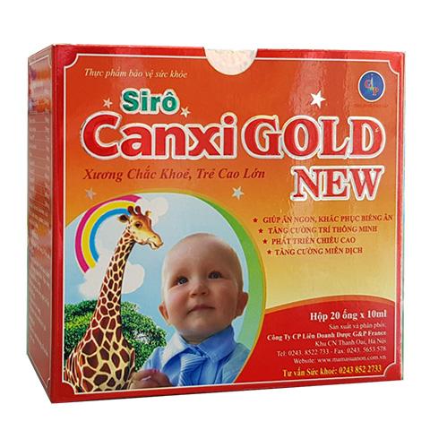 Siro Canxi Gold New