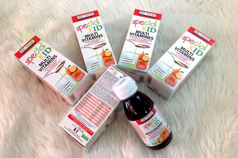 Special Kid Multivitamins, bổ sung vitamin và khoáng chất giúp tăng cường sức đề kháng