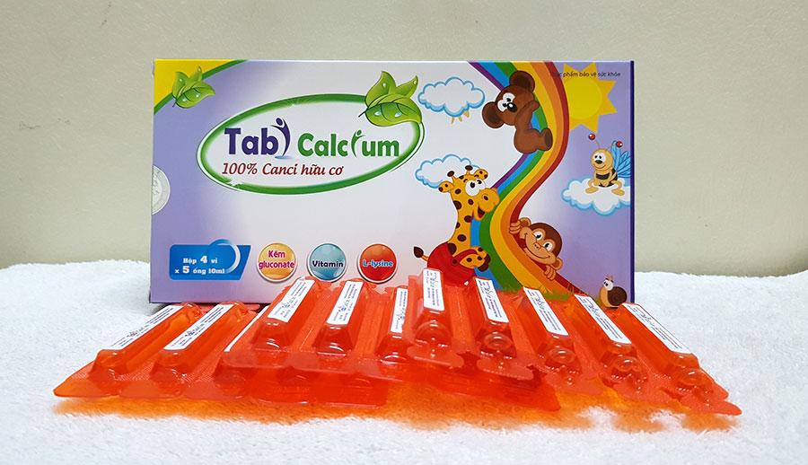 Hình ảnh chụp sản phẩm Tabi calcium!