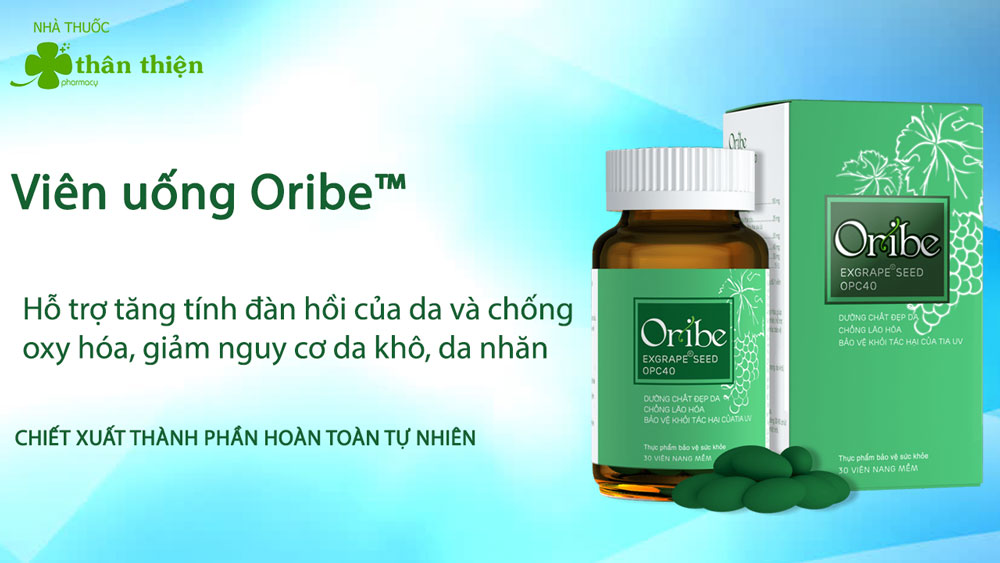 Viên uống Oribe có bán chính hãng tại các nhà thuốc trên toàn quốc