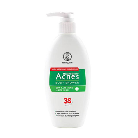 Sữa Tắm Ngăn Ngừa Mụn Acnes Body Shower 3S