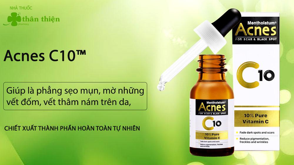 Sản phẩm Acnes C10 có bán chính hãng tại Nhà Thuốc Thân Thiện