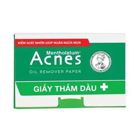 Giấy Thấm Dầu Kiểm Soát Nhờn Acnes Oil Remover Paper
