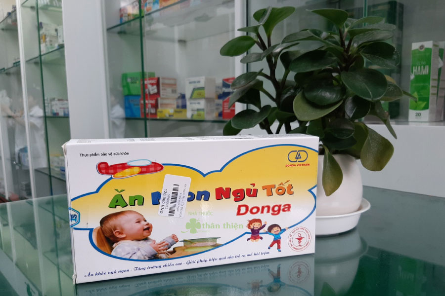 Hình chụp Ăn Ngon Ngủ Tốt DongA tại Nhà Thuốc Thân Thiện
