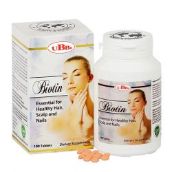 Biotin UBB Essential For Healthy Hair, Scalp And Naiils