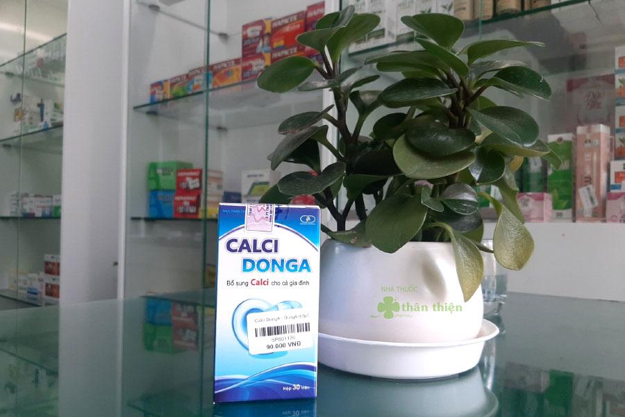 Hình chụp Calci DongA tại Nhà Thuốc Thân Thiện