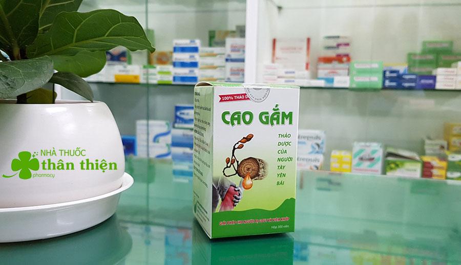 Hình chụp sản phẩm Cao Gắm tại nhà thuốc Thân Thiện!