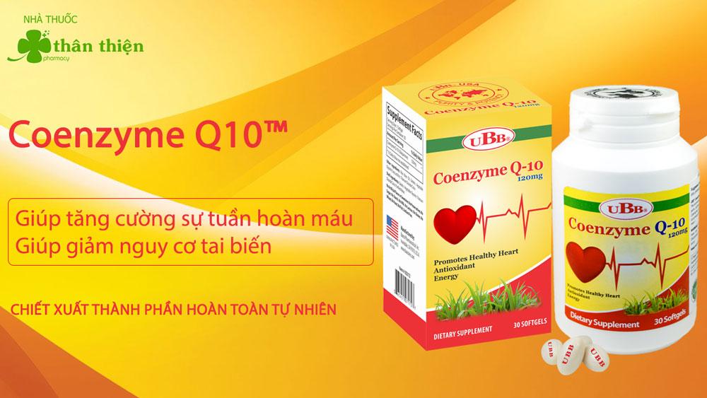 Coenzyme Q10 UBB có bán chính hãng tại Nhà Thuốc Thân Thiện