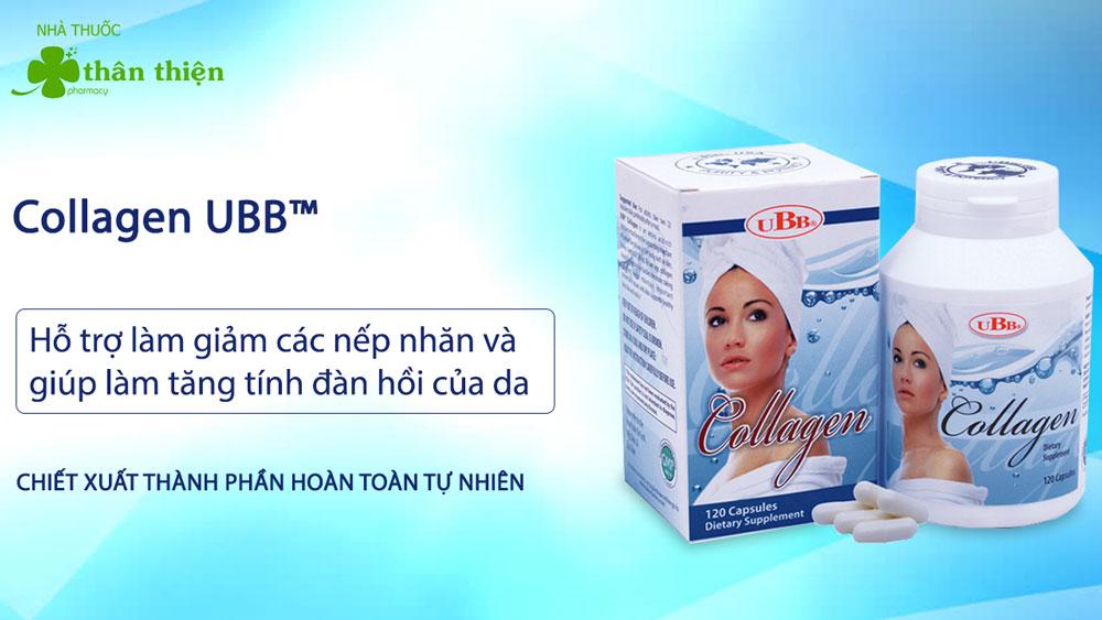Collagen Ubb bán chính hãng tại Nhà Thuốc Thân Thiện
