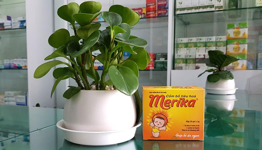 Hình ảnh Cốm Bổ Tiêu Hoá Merika chụp tại nhà thuốc!