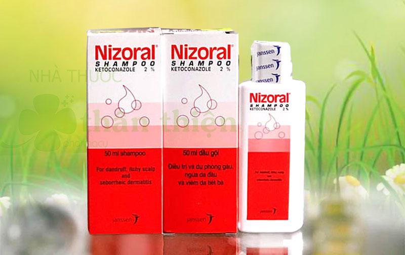 Dầu gội Nizoral Shampoo, giúp hỗ trợ điều trị nấm da, hạn chế gàu