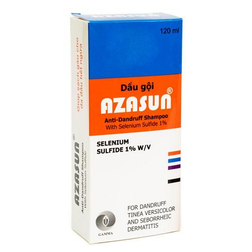 Hộp Azasun Anti-Dandruff Shampoo