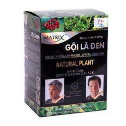 Dầu Gội Nhuộm Tóc Gội Là Đen Matrix Natural Plant