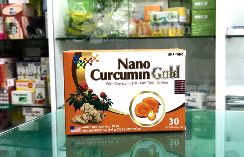 Nano Curcumin Gold, giúp giảm tác hại của hoá trị, xạ trị