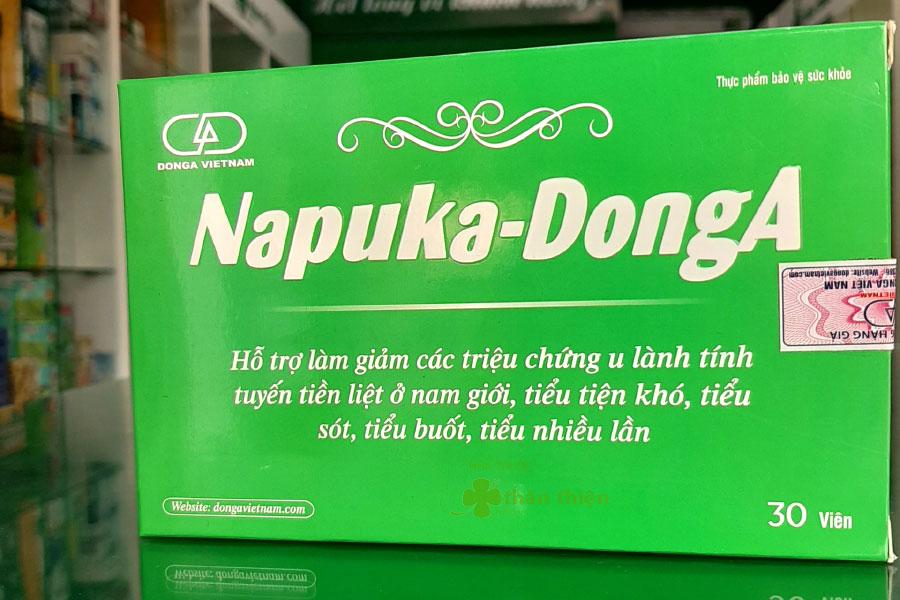 Hình chụp sản phẩm Napuka DongA tại Nhà Thuốc Thân Thiện