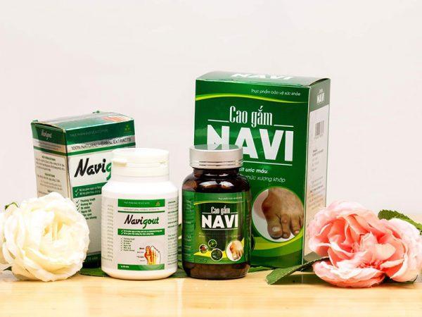 Bộ sản phẩm Navigout và Cao gắm Navi