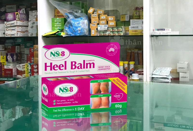 Ns-8 Heel Balm, giúp giảm tình trạng da nứt nẻ, dưỡng ẩm cho da, bảo vệ da