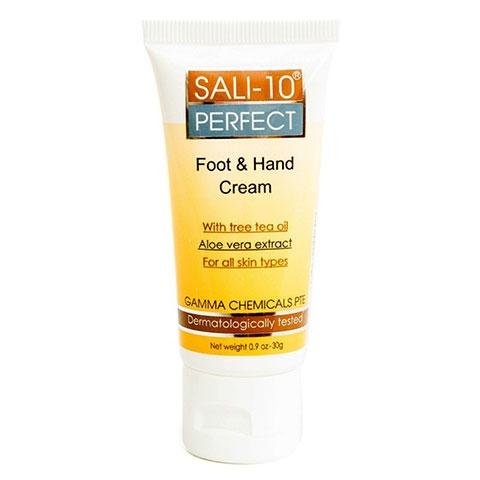 Kem Trị Khô Da, Nứt Gót Chân Sali-10 Perfect Foot & Hand Cream