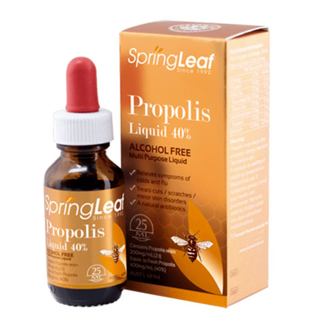 Spring Leaf Propolis Liquid 40% Alcohol free