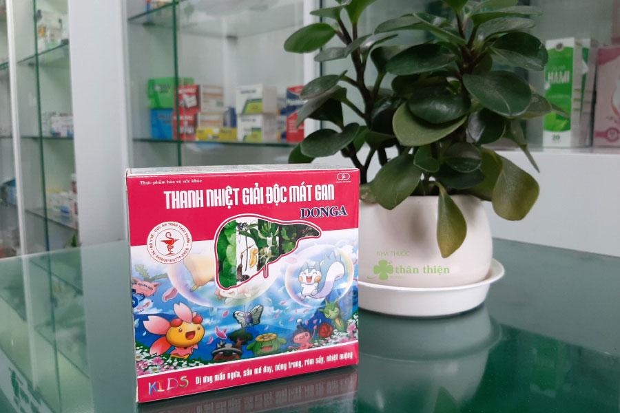 Hình chụp Thanh Nhiệt Mát Gan DongA tại Nhà Thuốc Thân Thiện
